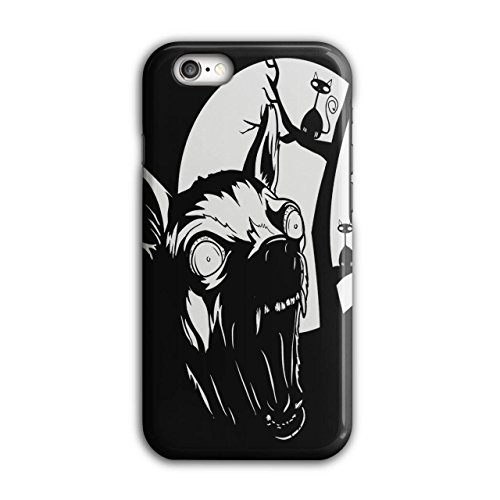 Böse Hund Welpe Horror Wild Nacht iPhone 6 / 6S Hülle | (Wilde Böse Katze Kostüme)