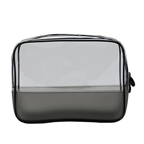 La Cabina Sac Cosmétique Sac de Rangement Trousse à Maquillage Sac Voyage Sac Plastique Imperméable Transparent de PVC de femmes