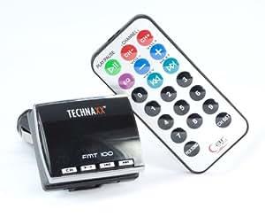 Technaxx FMT100 Transmitter OEM mp3 Carte SD USB noir