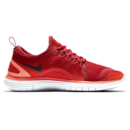 Nike Herren Free RN Distance 2 Laufschuhe, Rot (Gym Red/Max Orange/Hyper Orange/Black), 43 EU