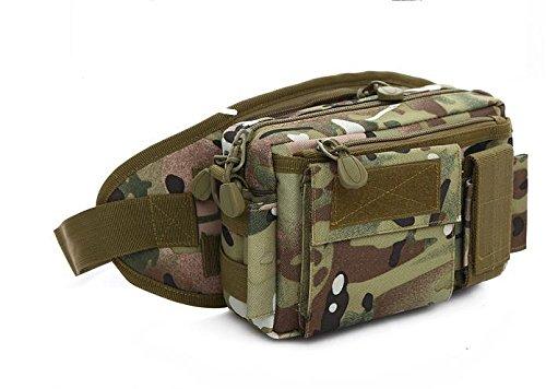 Zll/Outdoor Sports Flasche Tasche Army Camouflage Taktik Taschen Running Herren und Frauen reiten Klettern Multifunktional tragbar Paket CP