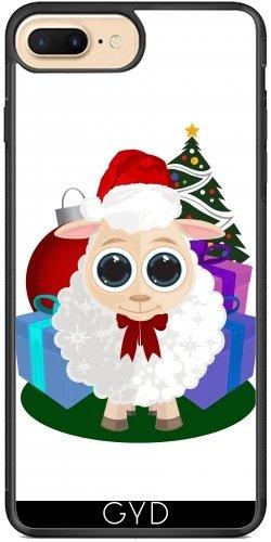 Leder Flip Case Tasche Hülle für Apple iPhone 5/5S - Christmas - Schafe by Adamzworld Silicona