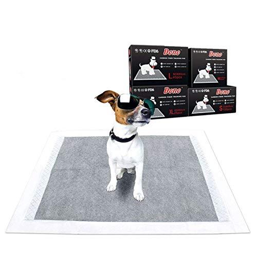 DONO Pet training Carbon Puppy Dog training usa e getta per WC super assorbente deodorante Dog Pads 4taglie