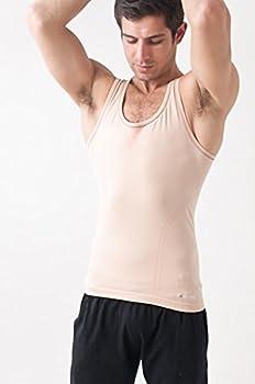 Yogamasti Herren Seamless Active Yoga Weste Beigehaut Ml 0