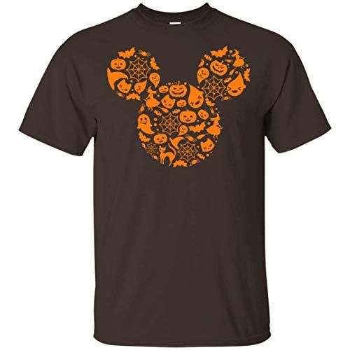 Cooles Mickey Fun Halloween Maus T-Shirt mit V-Ausschnitt - Lustiges Halloween Kostüm Cooles T-Shirt, - Mickey Maus Kostüm Für Hunde