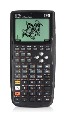 Hewlett-Packard - F2229AA#UUZ - HP50g - Calculatrice graphique - Noir