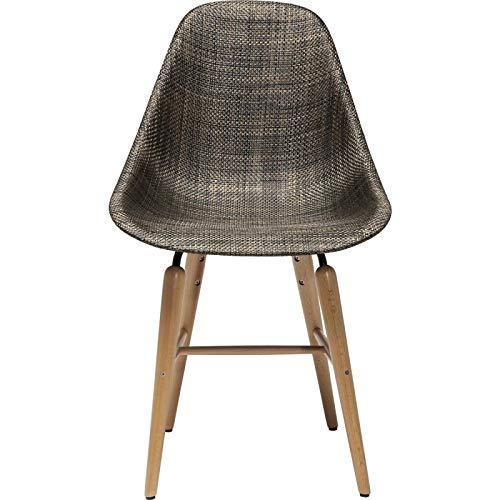 Chaise Forum bois marron Kare Design