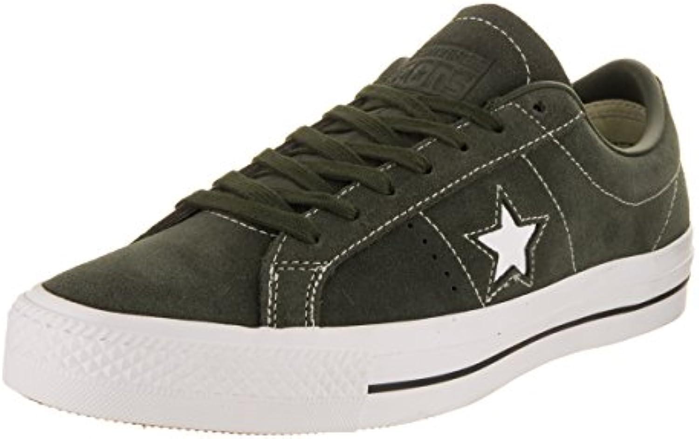 Converse 157872 One Star Pro Unisex Turnschuhe (Sequoia/Sequoia/White)