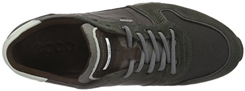 Ecco Sneak Men's, Baskets Basses Homme Marron (DARK SHADOW/SLATE/MOCHA50164)