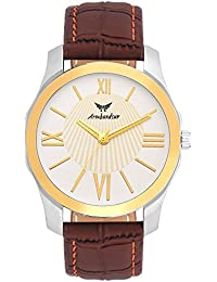 Armbandsur silver & golden elegant watch-ABS0071BGB