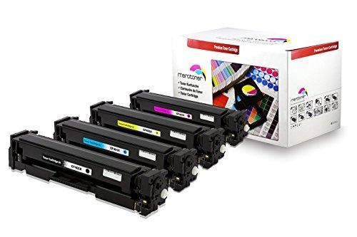 Preisvergleich Produktbild 4x XXL Toner Set ersetzt HP CF400X CF401X CF402X CF403X farblaser multifunktionsdrucker Toner kompatibel für LaserJet Pro MFP M252dw, LaserJet Pro MFP M250 Series, HP LaserJet Pro MFP M274n, HP LaserJet Pro MFP M277dw, LaserJet Pro MFP 277n Laser Multifunktionsdrucker, 201X, Schwarz 2.800 Seiten, Color je 2.300 Seiten