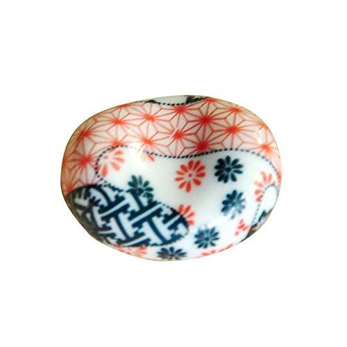 Queta stile giapponese bacchette supporto porta argento lingotto bacchette in ceramica ceramica artigianato ornamenti 3rd