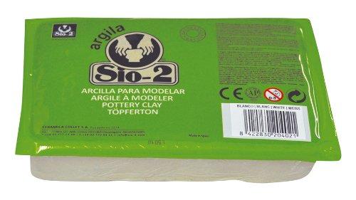 Argilla Sio-2 arcilla de cerámica de 1