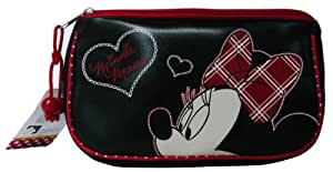 Disney Minnie Mouse Cosmetic Bag, Accessory Pouch, Makeup Pouch, Case, Travel Bag, Toiletry Bag #002