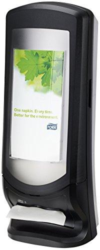 Tork Xpressnap 272211 Dispensador de servilletas vertical / Ideal para restaurantes / Sistema N4 / Negro
