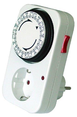 Preisvergleich Produktbild GAO 1GW/2A-1 Mechanische Wochen-Zeitschaltuhr max. 96 Schaltungen pro Woche