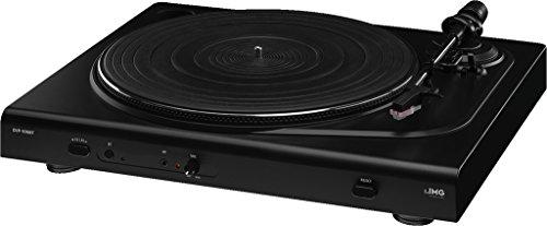 IMG STAGELINE DJP-106BT Stereo-Hi-Fi-Plattenspieler mit Bluetooth und integriertem Phono-Vorverstärker