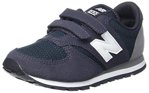 New Balance 420v1, Zapatillas Unisex Niños, Azul (Navy/Grey), 38 EU
