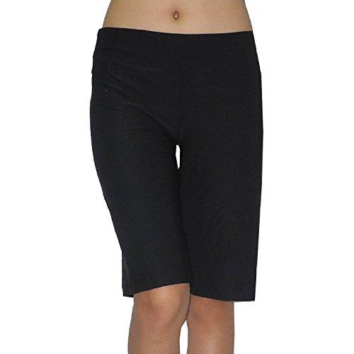 bally-total-fitness-damen-fitness-training-yoga-shorts-large-schwarz