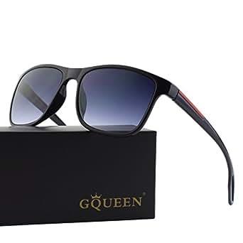 GQUEEN Occhiali da Sole Retro Protezione UV400 MZE4