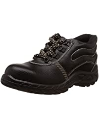 Safari Pro Booster Gold PVC Safety Shoes Steel Toe (Size 8)