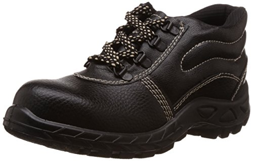 10. Safari Pro Booster Gold PVC Safety Shoes Steel