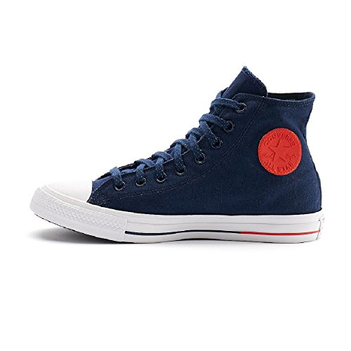 Converse Womens Chuck Taylor All Star Hi Counter Climate Canvas Trainers Obsidian