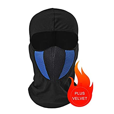 Tagvo Balaclava Face Mask, Breathable Mesh Multipurpose Windproof Motorcycle Cycling Tactical Balaclava Hood Neck Warmer, Fit Helmets for Adults Women and Men Elastic Universal Size from Tagvo