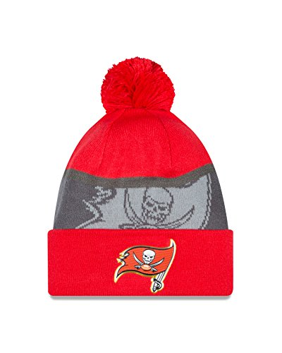 Tampa Bay Buccaneers New Era 2015 NFL Gold Collection Sideline Knit Hat Hut