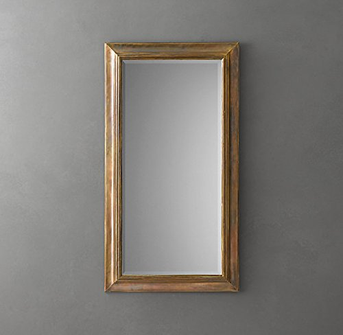 English Aged Brass Mirrors by D'Dass/English Wall Mirror/Luxurious wall mirror for living room/Wall mirror for home