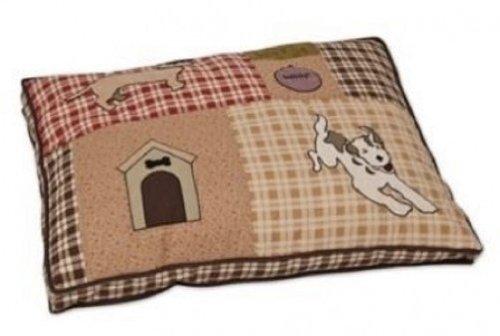 Aspen Pet gesteppt Seitenfalte Pet Bett, 27von 91,4cm, Spot Muster
