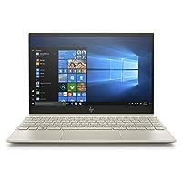 HP Envy 13-ah1002ne Laptop, Intel Core i7-8565U, 13 Inch, 512GB SSD, 8GB RAM, Nvidia Geforce MX150 (2GB Graphics), Win 10, Eng-Ara KB, Gold