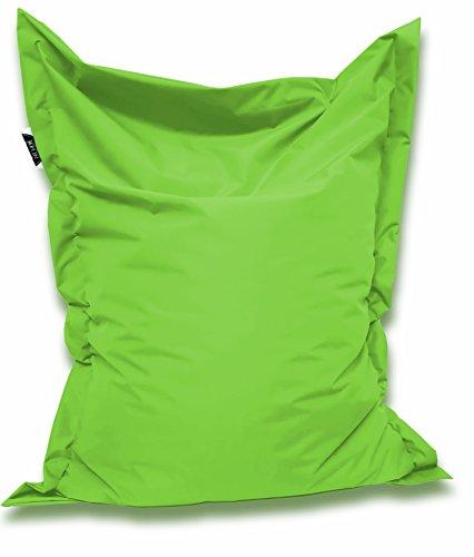 Sitzsack und Sitzkissen eckig |Kiwi - 100x70cm - in 25 Farben und 7 versch. Größen