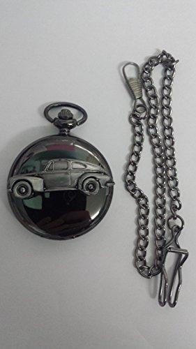 volvo-pv544-ref281-pewter-effect-emblem-polished-black-case-mens-gift-quartz-pocket-watch-fob-made-i