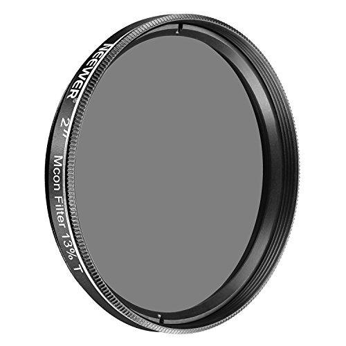 Neewer Filtro vidrio óptico 2 pulgadas 13% transmisión