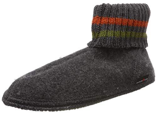 Haflinger Paul, Hüttenschuhe, Unisex-Erwachsene, Walkstoff aus reiner Wolle