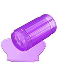 Demarkt Uñas Sello Estampado Raspador Silicona Transparente Stamping Nail Art Manicura
