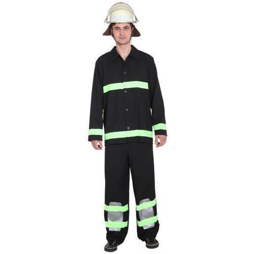 KOR7540-54-56 Herren-Kostüm Feuerwehrmann, Gr. 54-56