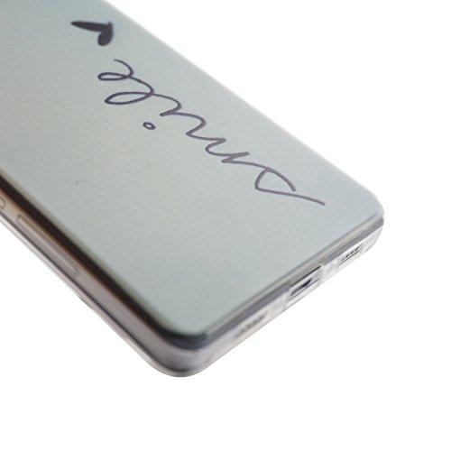 Voguecase® Pour Apple iPhone 5C, Ultra-minces TPU Silicone Shell Housse Coque Étui Case Cover (plume grise)+ Gratuit stylet l'écran aléatoire universelle mile