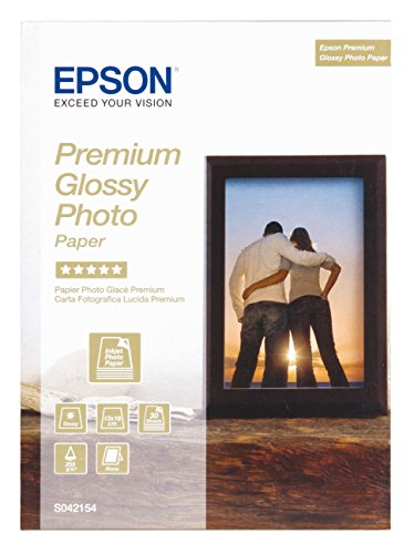 Epson Premium glossy photo paper inkjet 255g/m2 130x180mm 30 Blatt Pack (Epson Glossy Photo Paper)