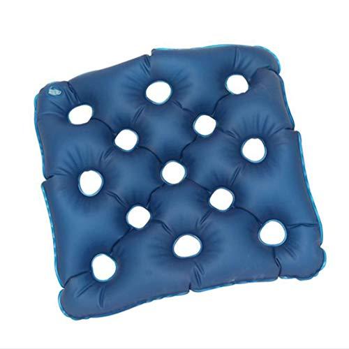 Cushion Cojín antiescaras de Agua Inflable Impermeable y Transpirable de inyección de Doble Uso de sillas de Oficina, sillas de...