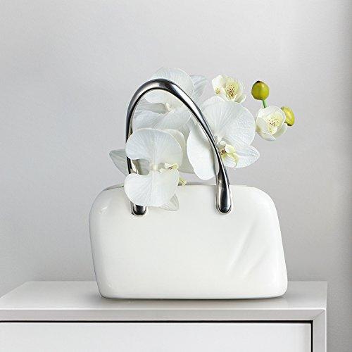 LX.AZ.KX elegante moderno creativo mano borsa ornamenti posto nel soggiorno aderente alla camera da letto minimalista ceramica Artware, Short of Hand Bag