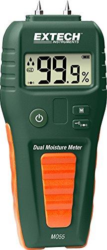 Extech MO55 Feuchtigkeitsmessgerät mit und ohne Messstift, grün -