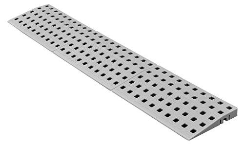 Schwellenrampe Modular für innen | Rampe für Türschwellen | Rollstuhlrampe (1,8 bis 2 cm x 75 cm)