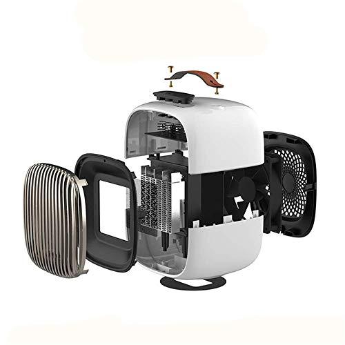 Msxx Ceramic Heater, tragbarer elektrischer Heizlüfter, Raumheizgerät mit heißem und natürlichem Wind, Überhitzungs- und Kippschutz, für den Heim- und Bürobereich sowie für das Badezimmer