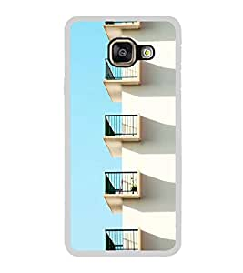 ifasho Designer Back Case Cover for Samsung Galaxy A3 (6) 2016 :: Samsung Galaxy A3 2016 Duos :: Samsung Galaxy A3 2016 A310F A310M A310Y :: Samsung Galaxy A3 A310 2016 Edition (Building Moskva(Moscow) Russia Chennai)