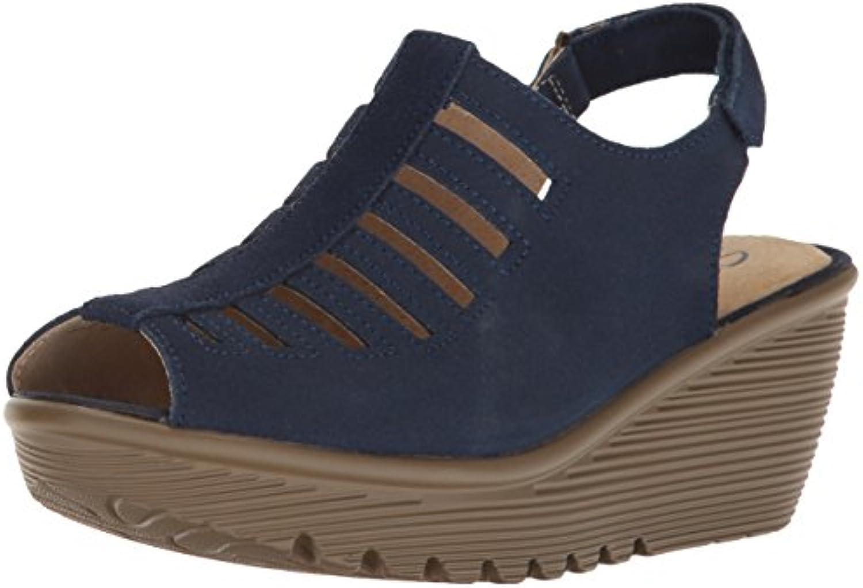 Skechers Skechers Skechers Wouomo Parallel-Trapezoid Wedge Sandal, Navy, 7.5 M US | Alta Qualità  | Uomini/Donne Scarpa  12ade6
