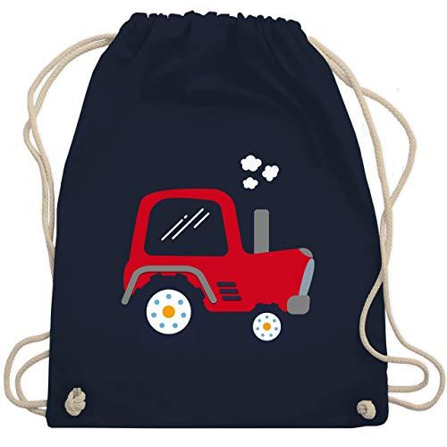 Fahrzeuge Kind - Kinder Traktor - Unisize - Navy Blau - WM110 - Turnbeutel & Gym Bag - Bff-spielzeug