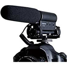 TAKSTAR the SGC-598 Photography Interview MIC Microphone for Nikon Canon Camera DV Camcorder