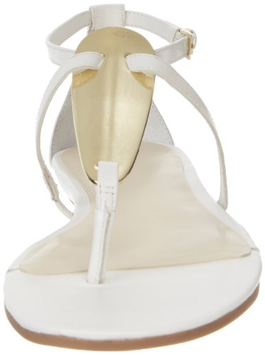 Nine West Weslie Cuir Tongs white
